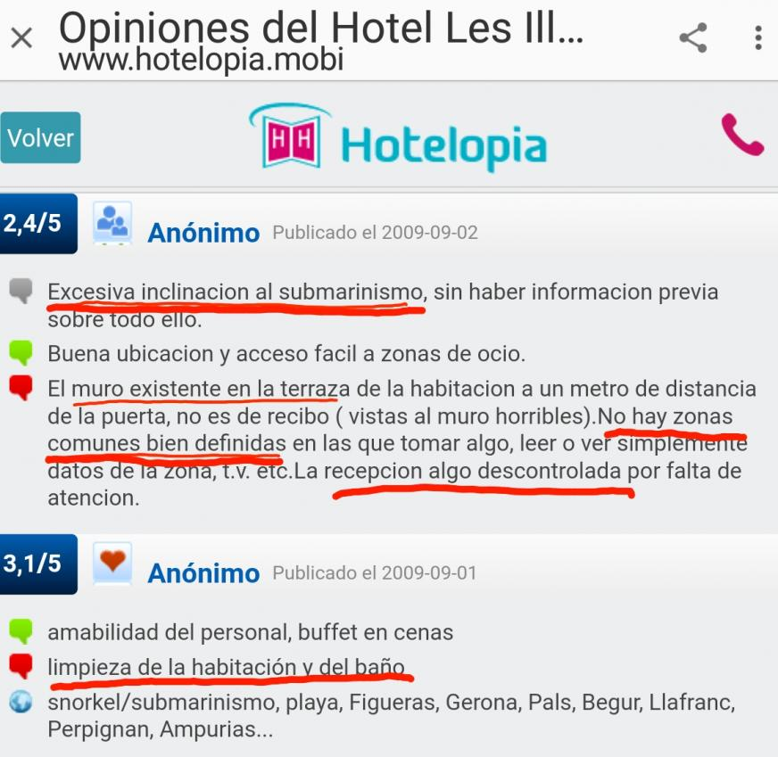 Hotelopia hotel les illes estartit