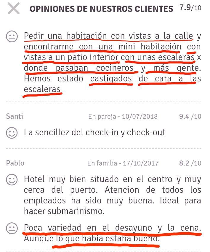 Opiniones weekendeks hotel les illes estartit